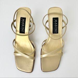 Marino Boutique 90's Square Toe Strappy Sandal